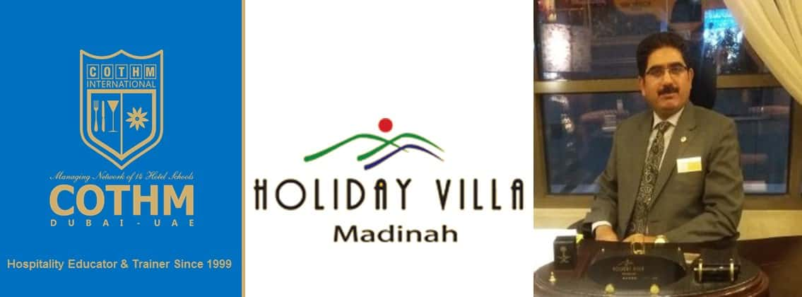 Atique Malik (Holiday Villa Hotel Madinah, Saudi Arabia)