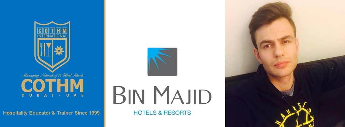 Bilal Akber (Bin Majid Hotels & Resorts, Abu Dhabi, UAE)