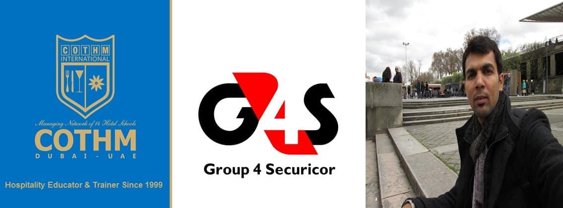Ronnie Samuel (G4S UAE SERVICES AND SECURITY SOLUTIONS, Dubai, UAE)