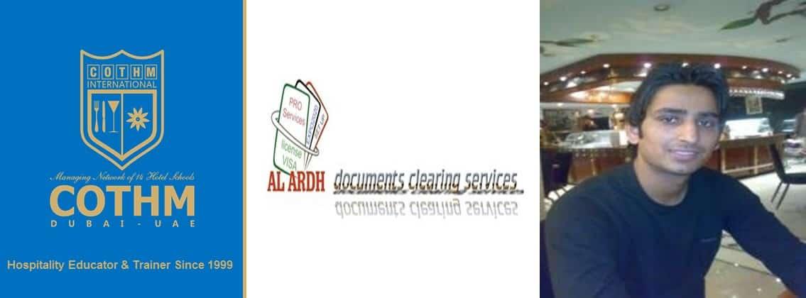 Muhammad Shiraz Khoso (Al Ardh Documents Clearing Services Company LLC Dubai, UAE)
