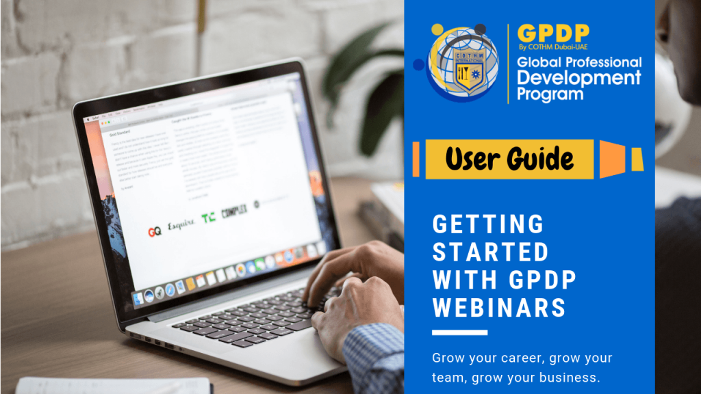 Getting Started with GPDP Webinars