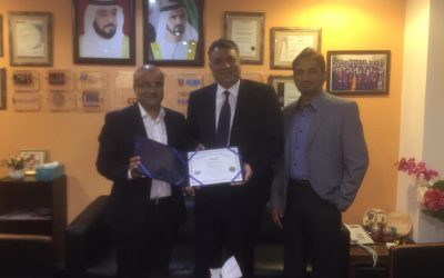 Congratulations to Mr. Mohammad Rizwan Butt , GM Pear City Suite Hotel Apartment Dubai