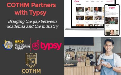COTHM Partners with Typsy