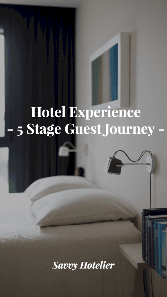 Hotel Experience: 5 Stages of Guest Journey